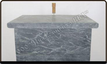 Закрытая каменка специальной конструкции из нержавеющей стали - фото2